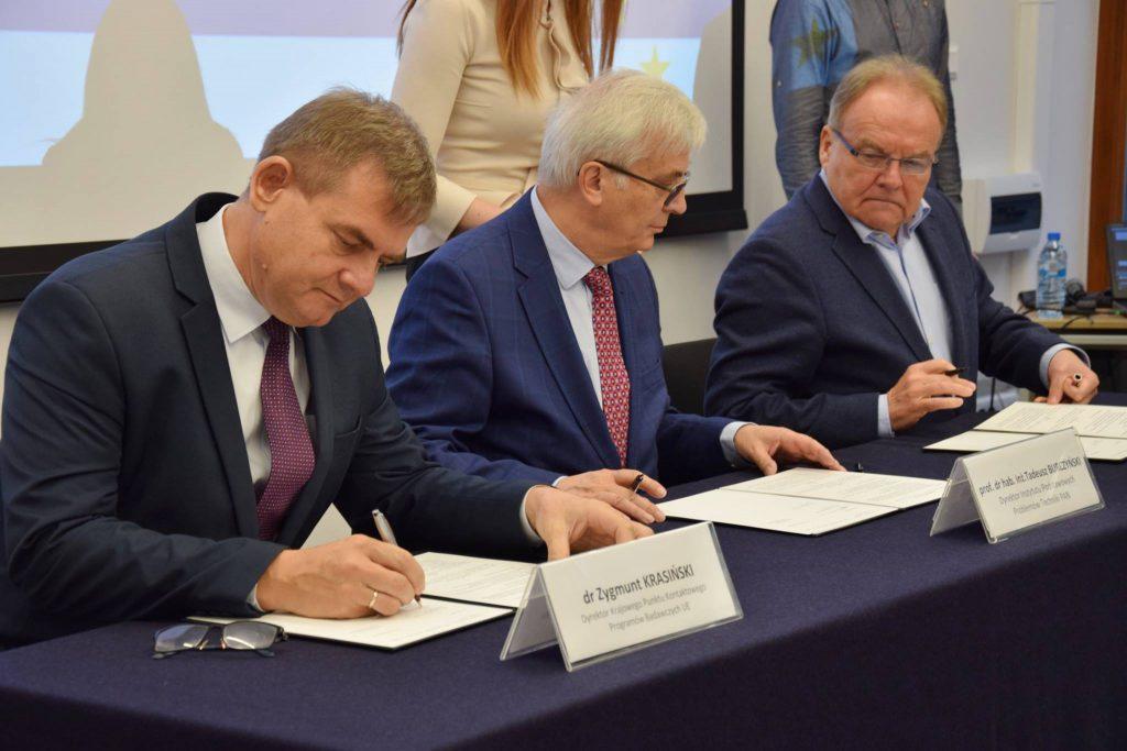 Podpisanie porozumienia KPK PB UE z Pracodawcami RP o współpracy w zakresie Horyzontu 2020